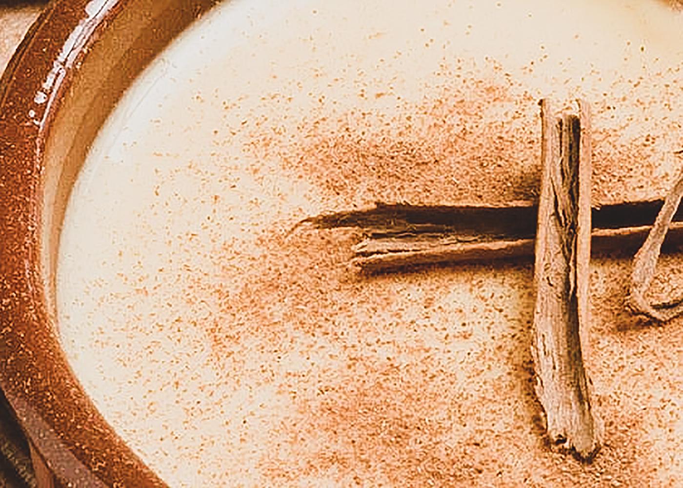 leite creme canela - Receitas práticas para um Natal mais saudável