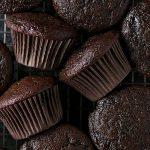 Queques proteicos de chocolate