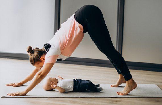 Benefícios do Yoga para bebés