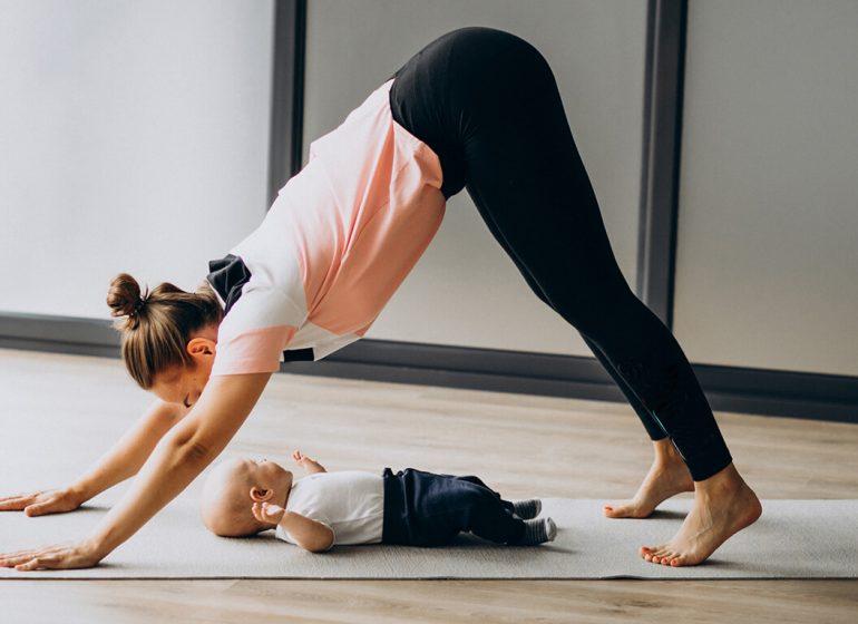 Benefícios Yoga para Bebés