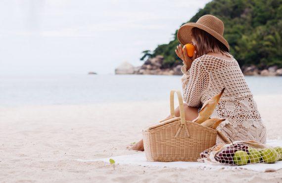 Snacks práticos e saudáveis para a praia